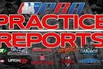 Practice Report Slider