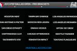 Dallas - Brackets